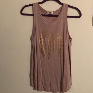 Old Navy feather tank